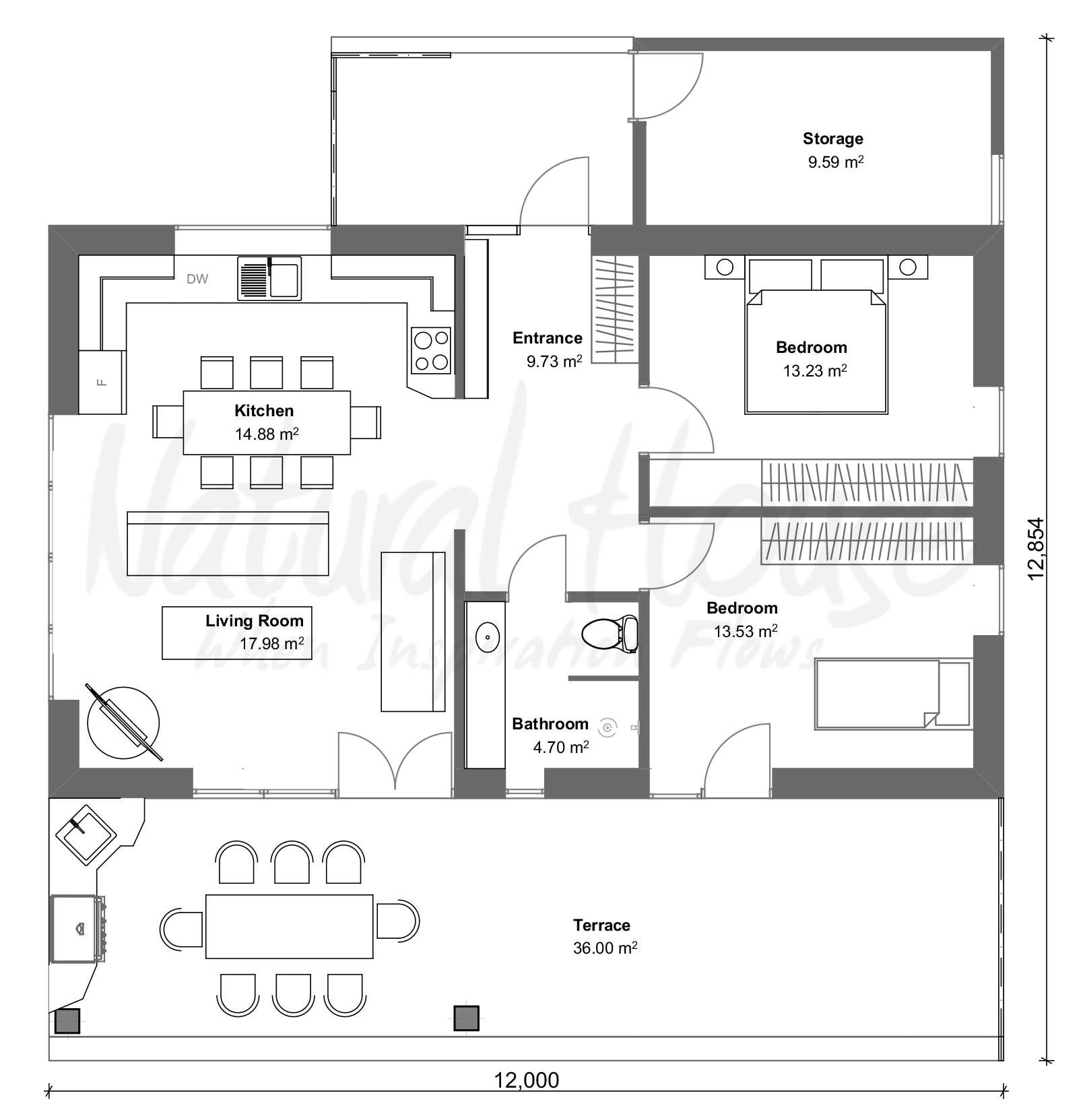 passive - private house - naturalhouse