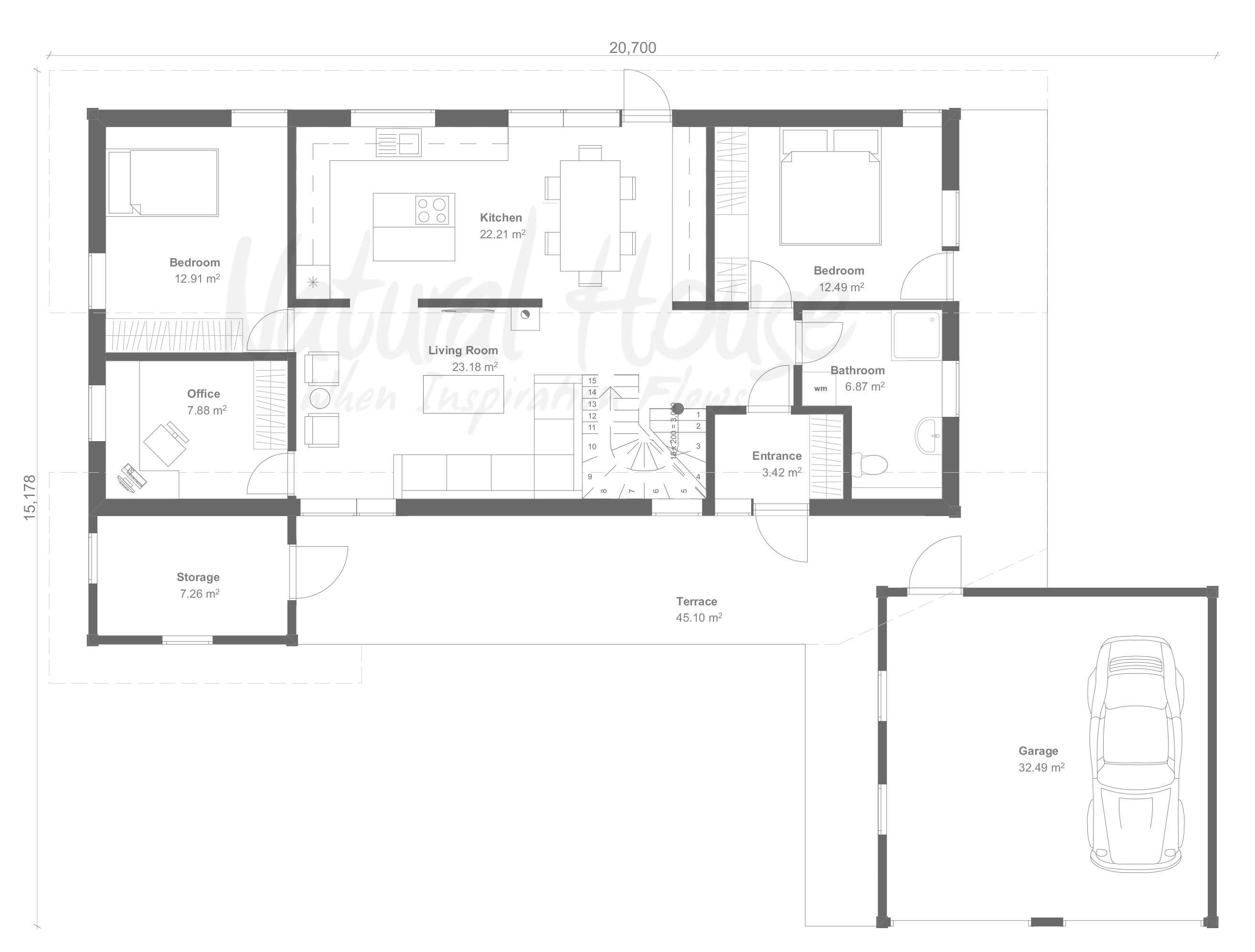 norwegian - private house - naturalhouse