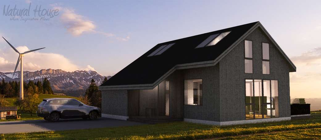 passive house - private house - naturalhouse