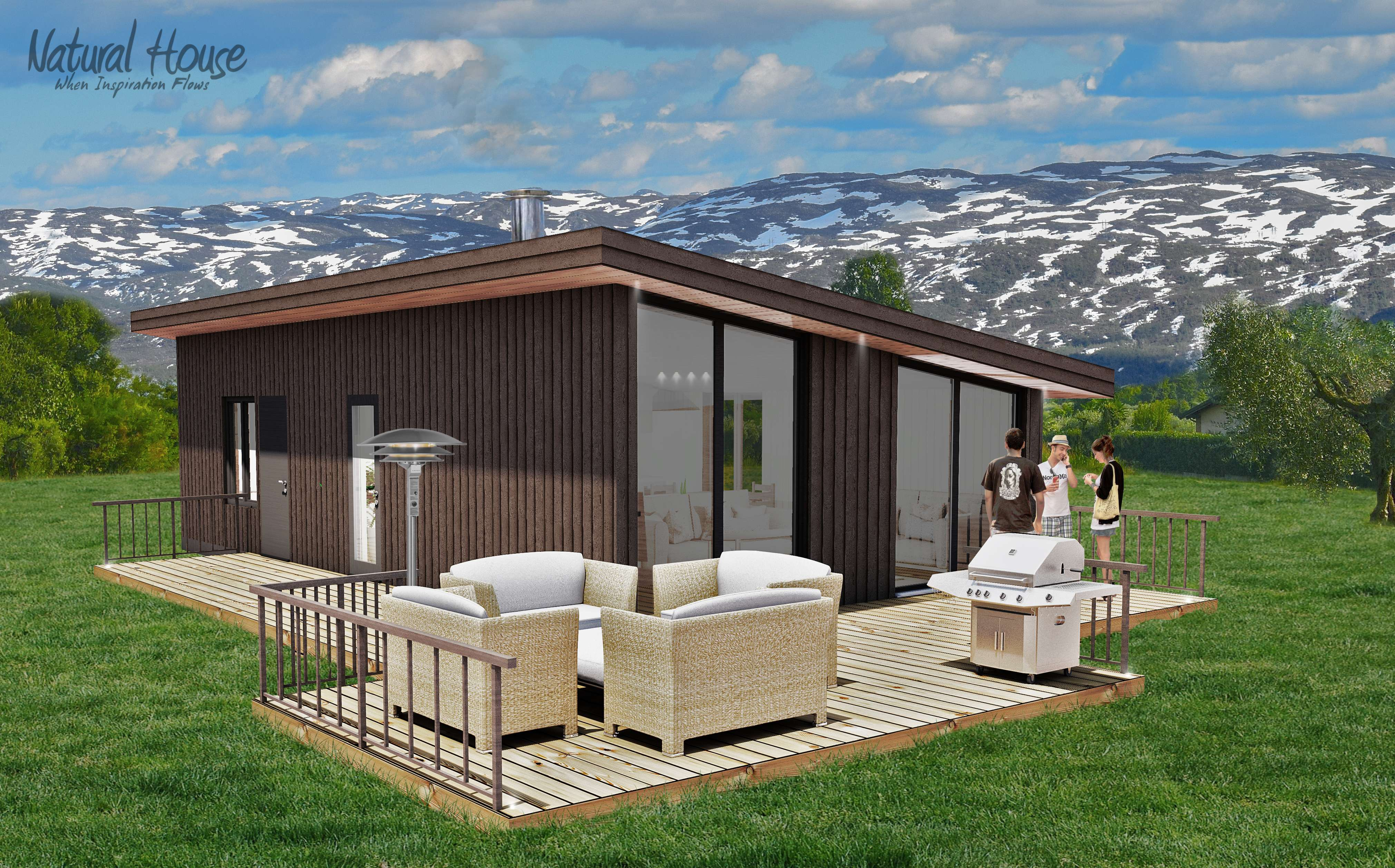 scandinavian - passive - cabin - naturalhouse