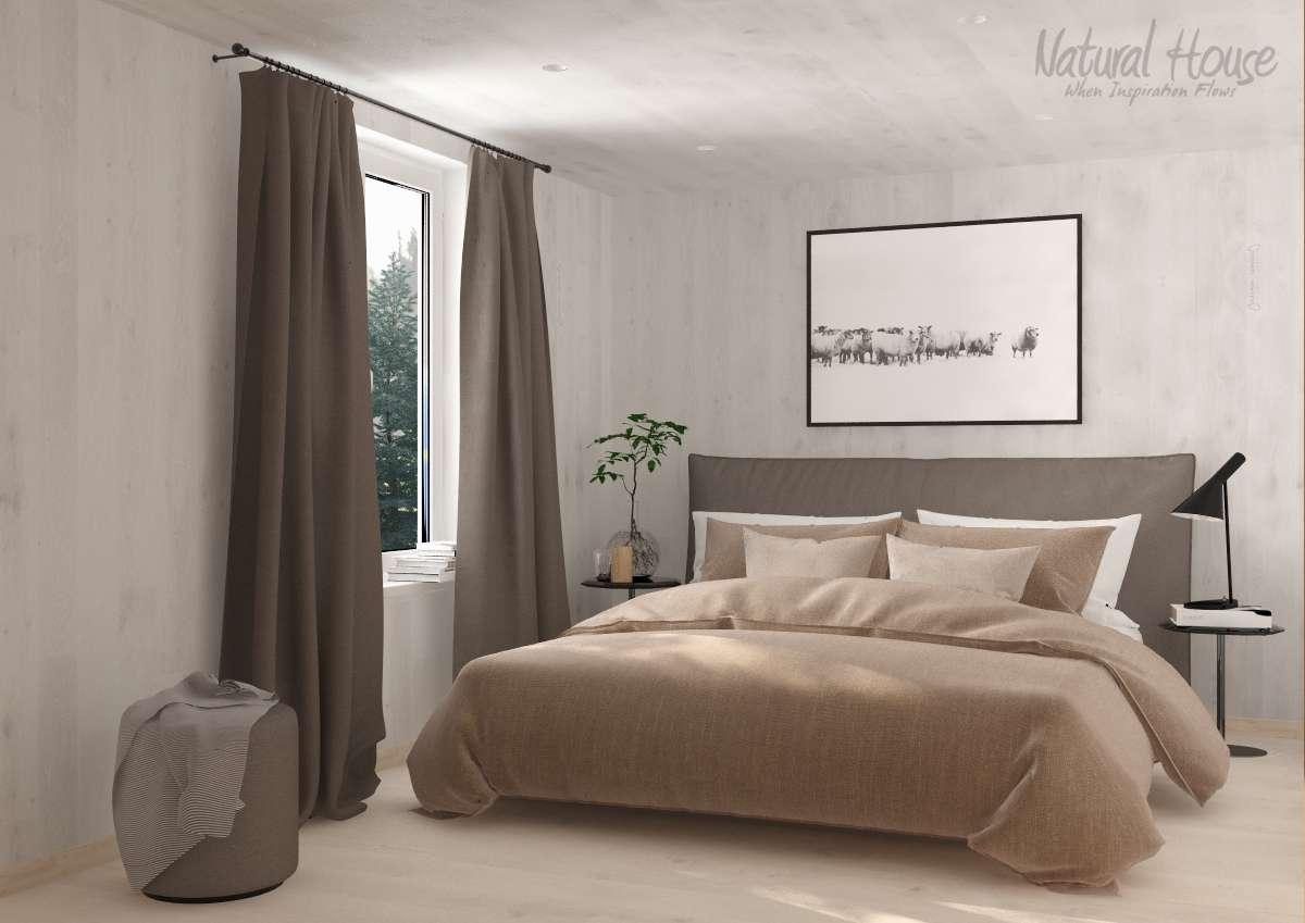 bedroom - family - scandinavian - cabin - naturalhouse