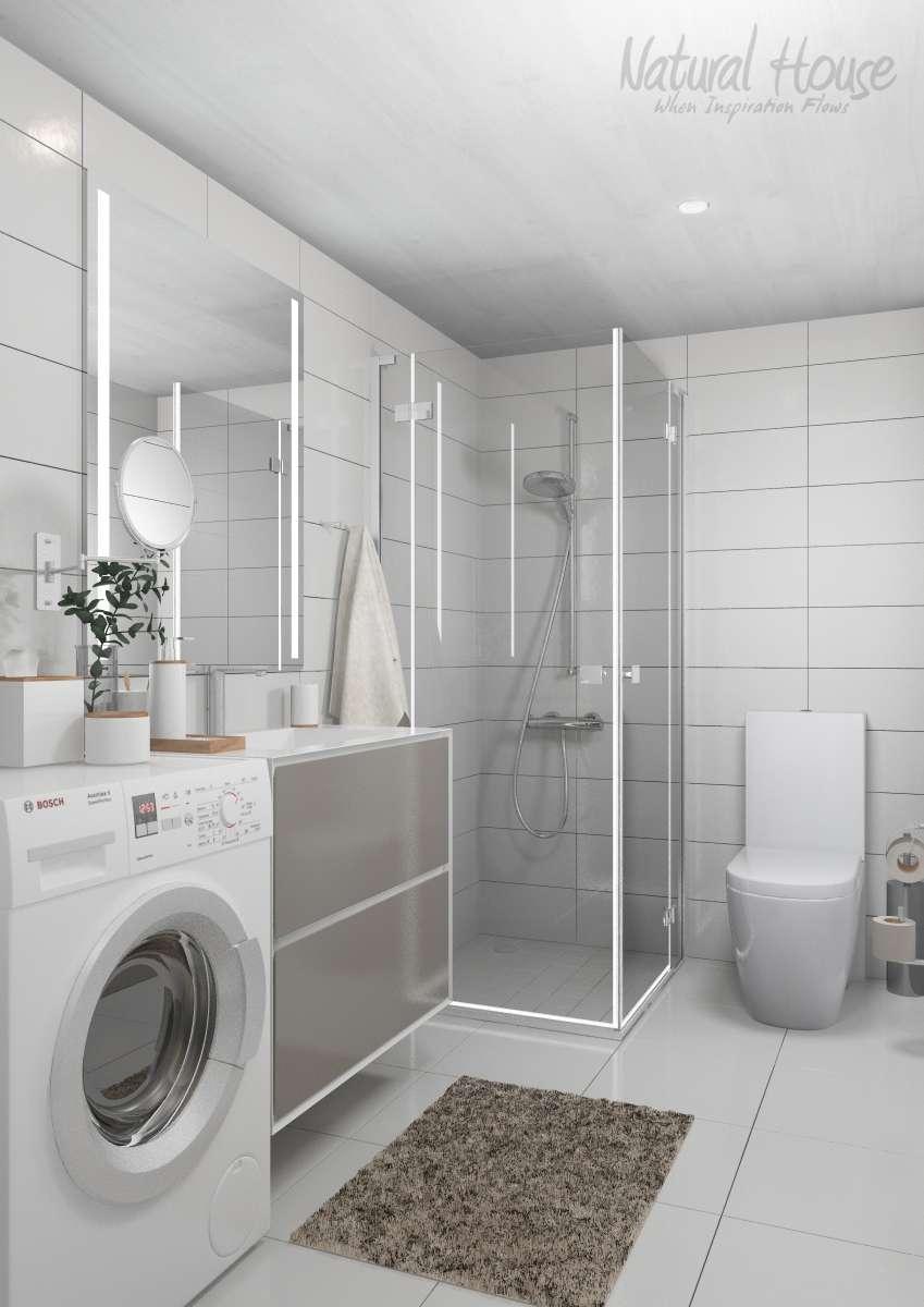 bathroom - family - scandinavian - cabin - naturalhouse