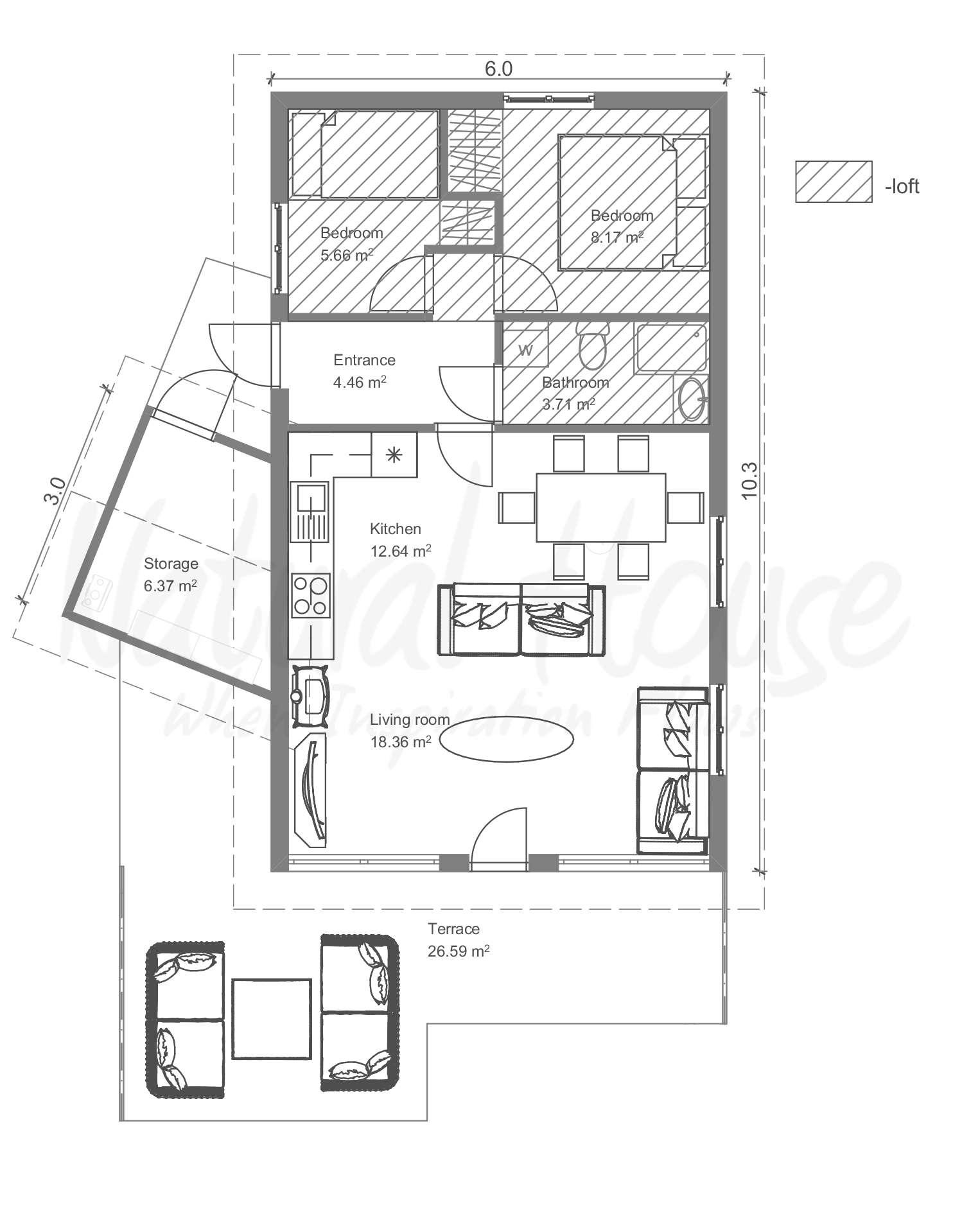 cosy - cabin - naturalhouse