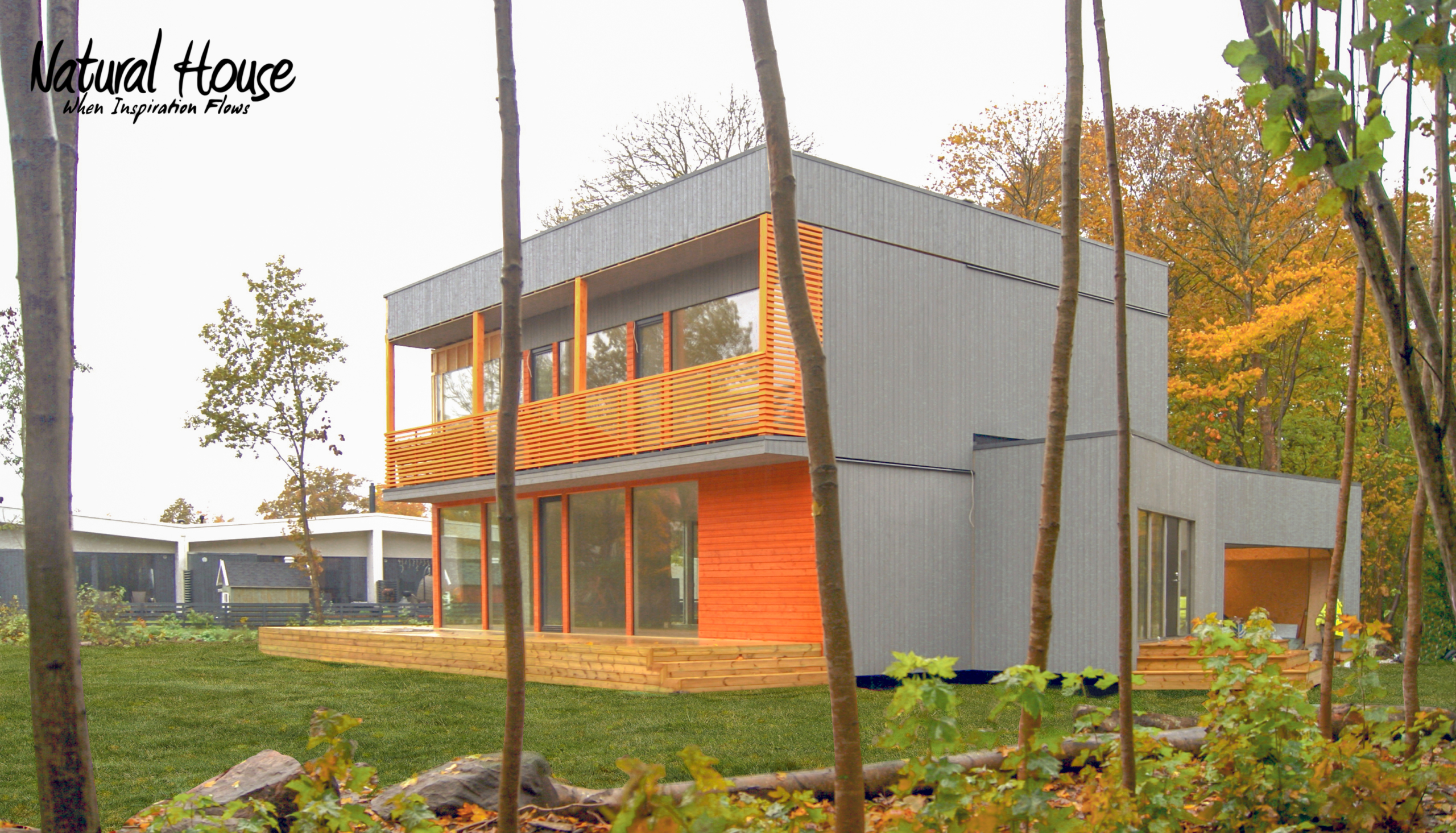 modern - passive - energy efficient - private house - naturalhouse