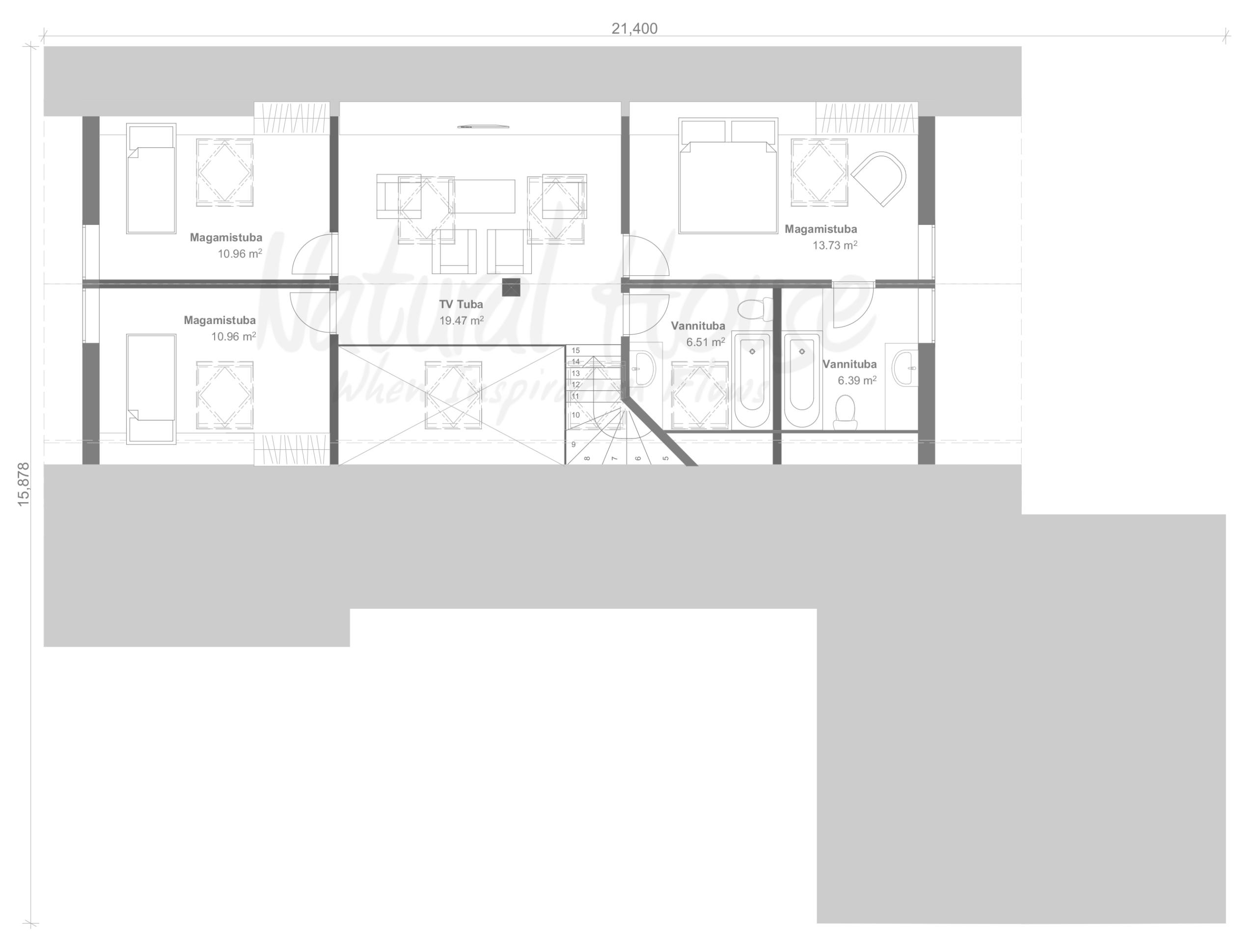 moderne-passivmaja - eramaja - naturalhouse
