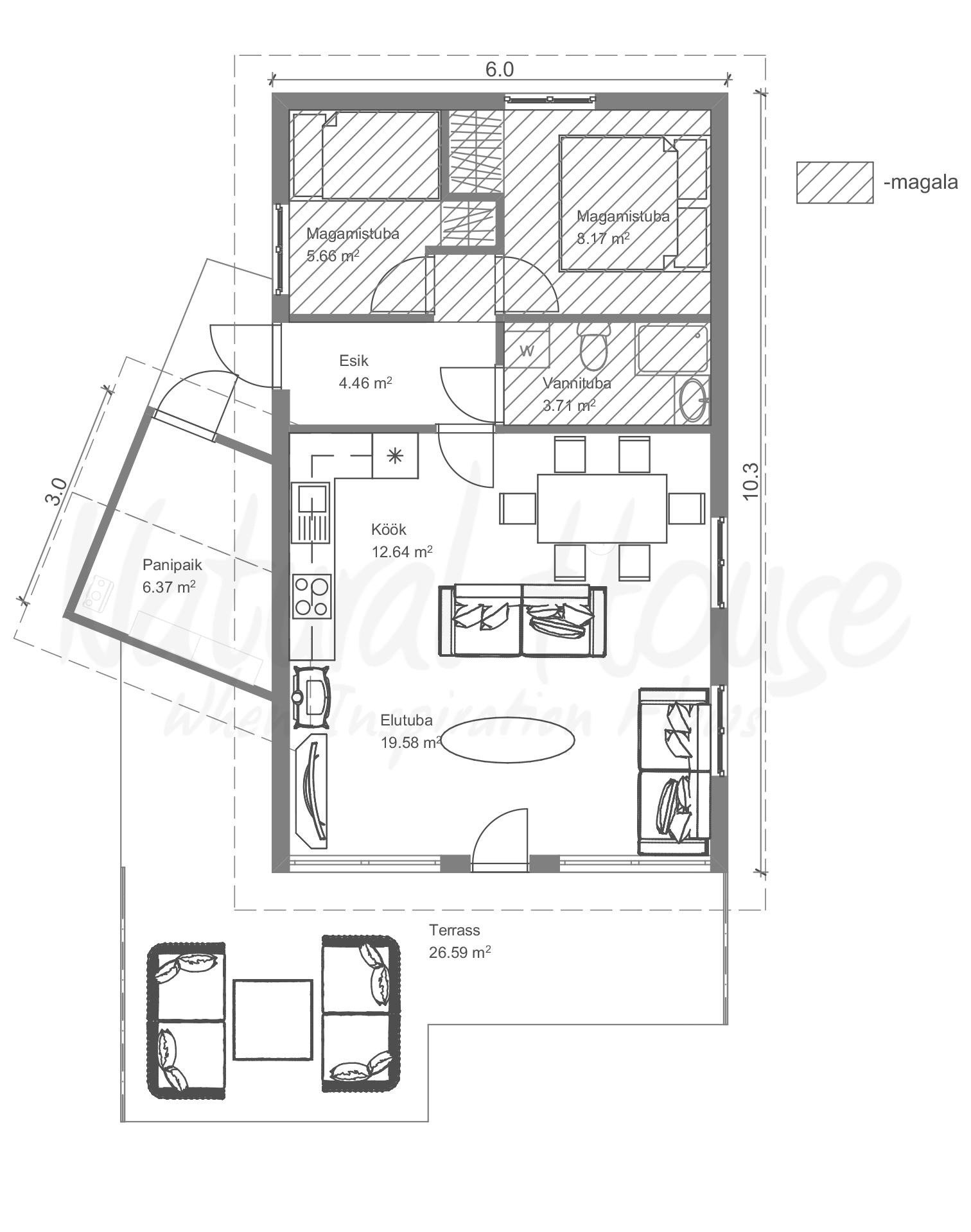 puhas - loodus - moderne - passivmaja - suvila - naturalhouse