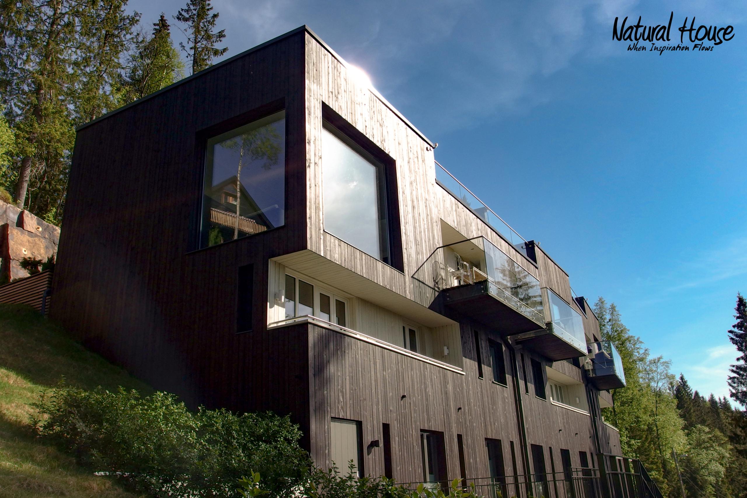 ökonoomne - puhas - loodus - moderne - passivmaja - paarismaja - naturalhouse - luksus